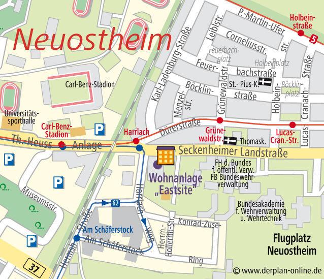 Wg Zimmer In Mannheim: Seckenheimer Landstraße 4a