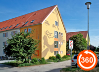 Ulmenweg / Studentensiedlung Ludwig-Frank